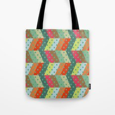 retro pattern and observatory 2 Tote Bag