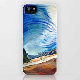Emily Carr - Above the Gravel Pit - Canada, Canadian Oil Painting - Group of Seven iPhone Case
