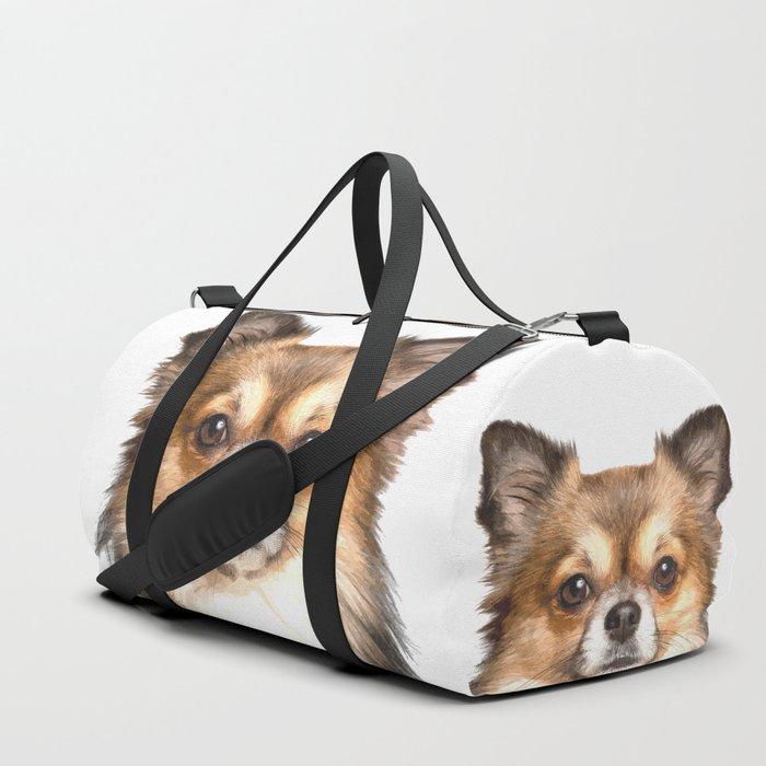 Chihuahua Portrait Duffle Bag