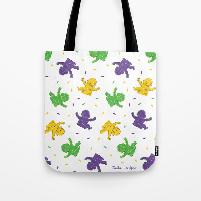 Who got the baby?? Tote Bag
