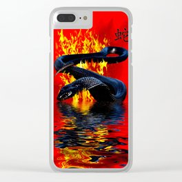 Year of the Snake  Chinese New Year Clear iPhone Case