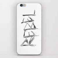 rebel iPhone & iPod Skins featuring Rebel by Victoria Schiariti