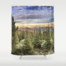 """Wildderness"". Adventure at the mountains... Shower Curtain"