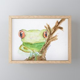 Focused Framed Mini Art Print