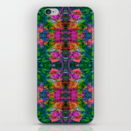 Nausea 1969 III (Ultraviolet) iPhone Skin