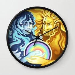 Creation of the Rainbow Wall Clock