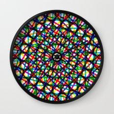 Crossed Wall Clock
