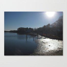 Shining River Canvas Print