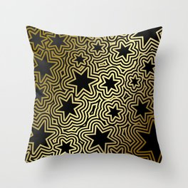 Night Stars of the South Throw Pillow