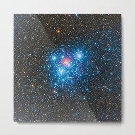 The Jewel Box Kappa Crucis Star Cluster NGC 4755 Metal Print