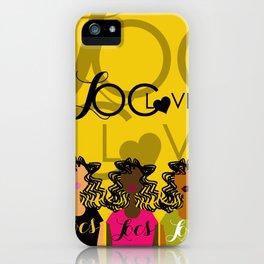 LOC LOVE iPhone Case
