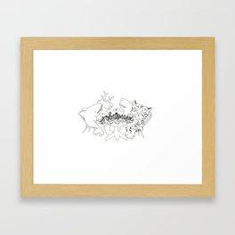 Sobremesa Framed Art Print