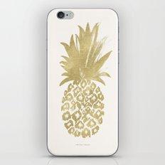 Gold Pineapple iPhone & iPod Skin