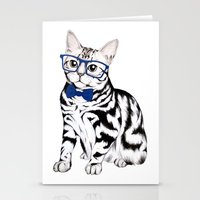 kitty Stationery Cards featuring Kitty by 13 Styx