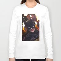 batgirl Long Sleeve T-shirts featuring Batgirl by Nicole M Ales