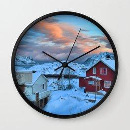 A Ridiculously Beautiful Sky Wall Clock