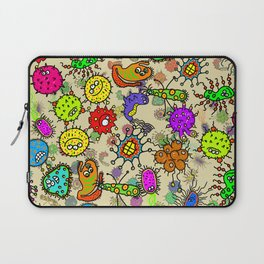 Doodle Germs Laptop Sleeve