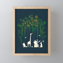 Re-paint the Forest Framed Mini Art Print