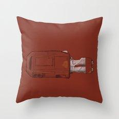 Rey's Speeder Throw Pillow