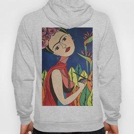 Frida Khalo Painting Hoody