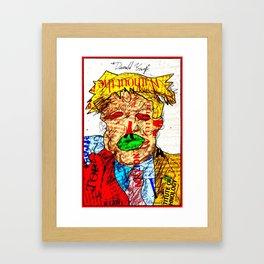 Candidate Trump Framed Art Print