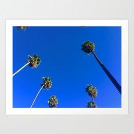 Cali Sky Art Print