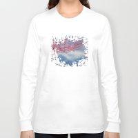 cherry blossom Long Sleeve T-shirts featuring Cherry Blossom by Adamzworld