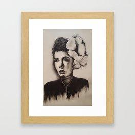 1940's Woman Framed Art Print