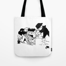 EASY SUNDAY Tote Bag