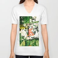 posters V-neck T-shirts featuring posters 2 by Renee Ansell
