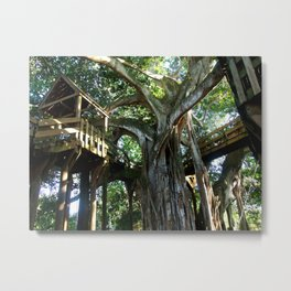 Tree house @ Aguadilla Metal Print