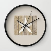 starfish Wall Clocks featuring Starfish by Alyn Spiller