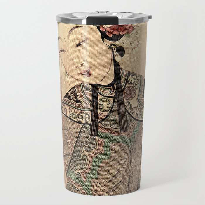 You are so beautiful more than flower and moon Travel Mug