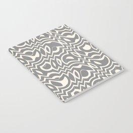 Gray & Ivory Tumble Notebook