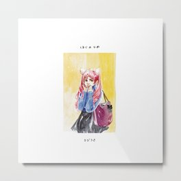 Chibiusa - Fan Art Sailor Moon Metal Print