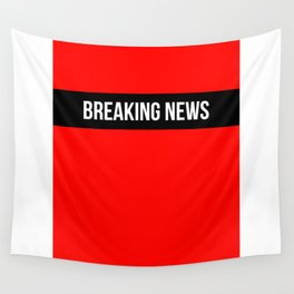 Hear Ye - Breaking News Design Wall Tapestry