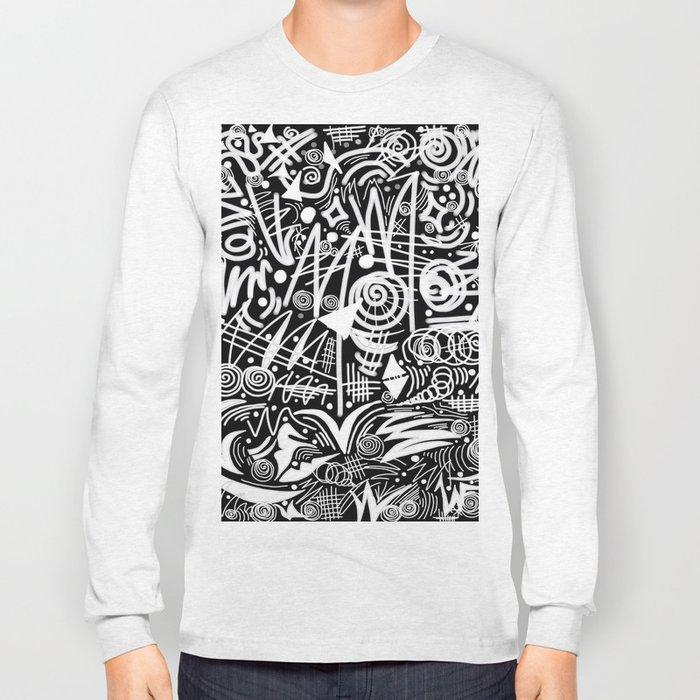 Chalk Board! Long Sleeve T-shirt
