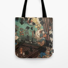 Battlescene Tote Bag