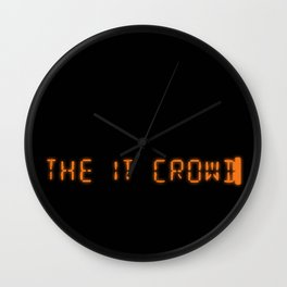 Title - The IT Crowd Wall Clock