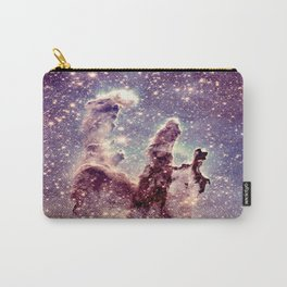 pillars of creation pale mauve blue lavender Carry-All Pouch