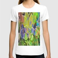 succulent T-shirts featuring succulent fantasy by  Agostino Lo Coco