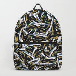 "KB 5 UNDFTD ""Dirty Dozen"" Sneaker Collage Print Backpack"