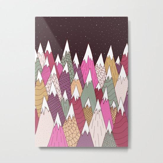 Woodland Warmth Metal Print
