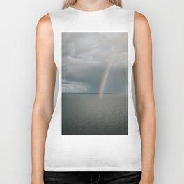Rainbow I - Landscape and Nature Photography Biker Tank