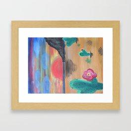Kindergarden desert Framed Art Print