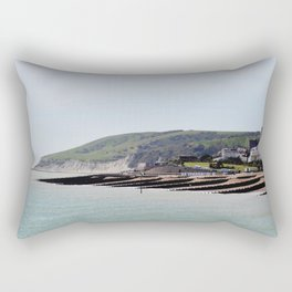 Rolling into the Sea Rectangular Pillow