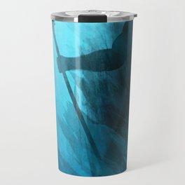 Scuba Diver meets Poseidon  Travel Mug