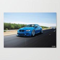 BMW M3 Coupe Canvas Print