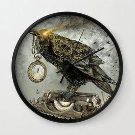 Omnia Fert Aetas Wall Clock