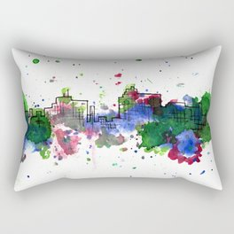 Going Downtown: Flint Rectangular Pillow
